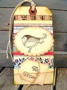 bird tag - nice!
