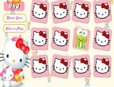 pexeso Line Game, Hello Kitty, June, Snoopy, Memories, Games, Fictional Characters, Plays, Souvenirs