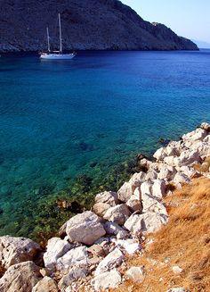 Blue Voyage Scenes - XI - Symi, Dodekanisos, Greece