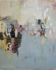 """Madeline Denaro - Dancing in the kitchen sink, 2012 acrylic on canvas 60""""x48"""""""
