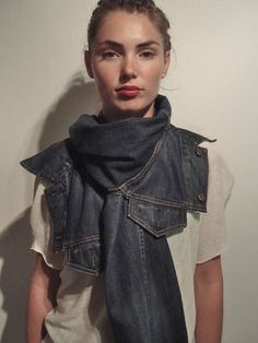 Revolution In Material Apparel - Accessories  a Denim Jacket. Samantha  Broderick · Sustainable Denim Collection- Inspirations c2cbe7d591e95
