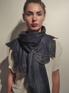 Revolution In Material Apparel - Accessories: 1/2 a Denim Jacket