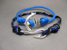 Bracelet réglable paracorde Hameçon.