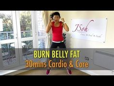 Beginner kickboxing workout video | Tone and Tighten