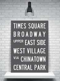 Subway Sign. New York City. Typog - Google Search