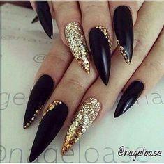 Like the design not the stiletto - #nails #nail art #nail #nail polish #nail stickers #nail art designs #gel nails #pedicure #nail designs #nails art #fake nails #artificial nails #acrylic nails #manicure #nail shop #beautiful nails #nail salon #uv gel #nail file #nail varnish #nail products #nail accessories #nail stamping #nail glue #nails 2016