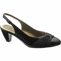 Soft Style By Hush Puppies Dezarae Slingback Pumps Jcpenney Low Heels Black