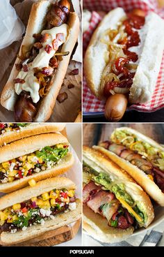 While the weather still permits, grill up one of these indulgent hot dog recipes. From classic takes like bacon-wrapped to internationally inspired like banh mi, these hot dogs have one thing in common: they will make you crave cookout foods STAT.