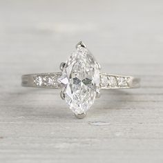 Vintage 1920s Tiffany & Co. Marquise Ring