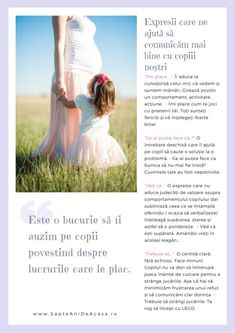 Expresii care ne ajută să comunicăm mai bine cu copiii (Descarcă PDF) / / 7 ani de acasă Classroom Management, Kids And Parenting, Montessori, Adoption, Learning, Mai, Children, Design Interior, Psychology