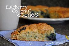 Inside BruCrew Life: Blueberry Coconut Scones