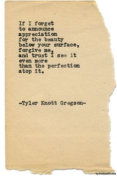 Typewriter Series #1568 by Tyler Knott Gregson Chasers of the Light & All The Words Are Yours are Out Now!