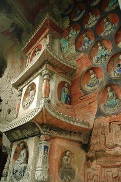 summit of treasures buddhist cave art of dazu china