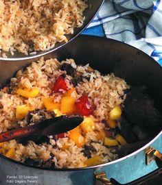 Ludaskása – Receptletöltés Fried Rice, Ethnic Recipes, Food, Essen, Meals, Nasi Goreng, Yemek, Stir Fry Rice, Eten
