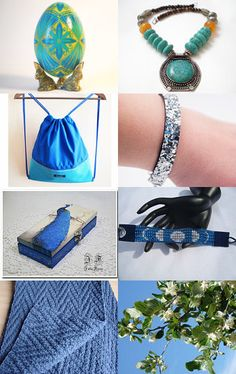 Why so Blue? by Gabbie on Etsy--Pinned with TreasuryPin.com