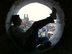 En el interior de la cúpula de San Agustín #Quito - #Ecuador (Ago 2011)