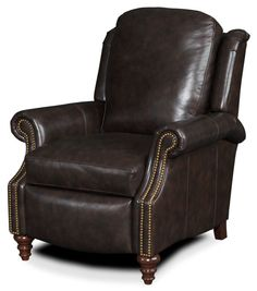 Leather Reclining Chairs | HOBSON 3-WAY LOUNGER | 5005 Details | Bradington-Young