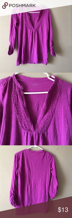 Loft sz s Use good condition if u have question feel free to ask is loose top LOFT Tops Blouses