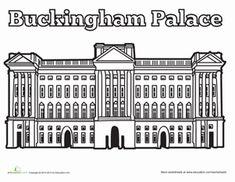 buckingham palace pictures printable - Szukaj w Google
