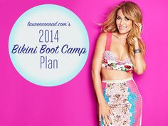 Lauren Conrad's 2014 Bikini Boot Camp Plan