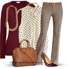 Love everything about this working girl outfit. Color, style, the fact that I could use the top pieces in a different more casual outfit. Trajes Business Casual, Business Casual Outfits, Business Attire, Casual Attire, Business Clothes, Business Shoes, Dress Casual, Casual Wear, Mode Chic