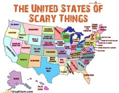 The United States of scary things