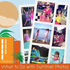 Ask the Domestic Life Stylist: What to do with Summer Photos #photos #summer #organizing