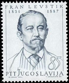 Yugoslavia Stamp 1965 - Fran Levstik 1831-1887