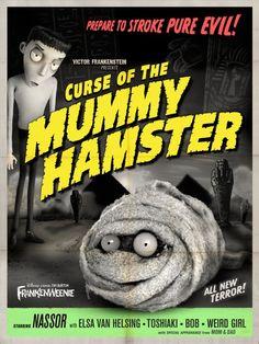 Frankenweenie - Movie Posters