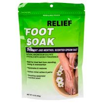 Relief MD Peppermint-Scented Foot Soak, 16-oz. Bags