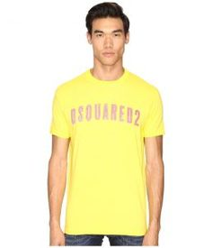 DSQUARED2 Hand Me Down T-Shirt (Yellow) Men's T Shirt