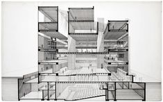 Yale Building by Paul Rudolph                                                                                                                                                                                 Más