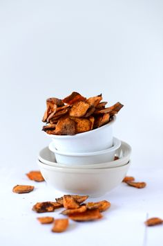 Chipotle Sweet Potato Chips | Minimalist Baker