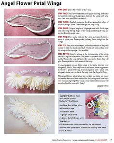 angel wings tutorial by Adele Sciortino   Flickr - Photo Sharing!
