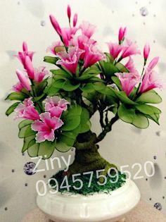 Hình ảnh Hoa vải voan handmade - shop Ziny (chibi)