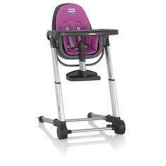 "Inglesina Zuma High Chair - Gray/Fuchsia - Inglesina - Babies ""R"" Us"