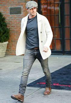 David Beckham 40 clothes fashion