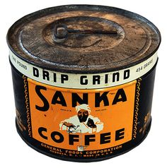 """Sanka Coffee - Pa Young drank Sanka coffee and always called it """"Sankey""""  Ma Young would always say """"Pa"""" it's Sanka and he would say that's what I said """"Sankey"""". He just boiled his coffee in the coffee pot so when you got down to the last cup or two you would get a lot of grounds.  Ray"""
