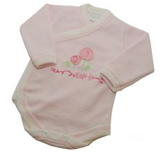 #Tiny Me Crossover Flowers #Bodysuit available online at http://www.babycity.co.uk/