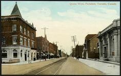 Queen West, Parkdale, 1910...