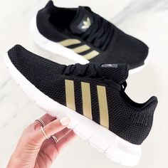 277aacadd391a adidas Black and Gold shoes - adidas Response sneakers. Black And Gold  Outfit