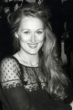 Meryl Streep at the Oscars 1979.