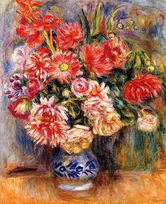 Bouquet Pierre Auguste Renoir - 1913