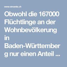 Obwohl die 167000 Flüchtlinge an der Wohnbevölkerung in Baden-Württemberg nur einen Anteil von 1,5 Prozent haben, ist ihr Anteil an den Tatverdächtigen mit 10,5 Prozent derzeit überproportional hoch.