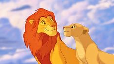 """So we all know Simba and Nala from Disney's Lion King are a power couple. 