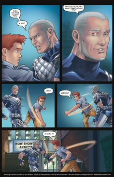 The Young Protectors: Engaging The Enemy—Page 5 - Yaoi 911 Webcomics