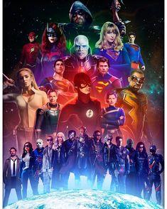 Crisis on infinite earth Heroes Dc Comics, Dc Comics Series, Dc Comics Art, Justice League Characters, Dc Characters, The Flash, Marvel Avengers, Arrow Flash, Flash Drawing