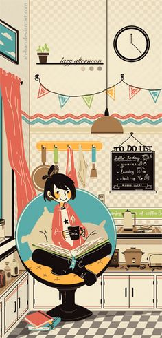 Lazy Today by ah-bao.deviantart.com on @deviantART