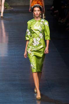 Dolce & Gabbana wiosna-lato 2014, fot. Imaxtree