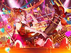 The BanG Dream! Cool Anime Girl, Kawaii Anime Girl, Anime Art Girl, Anime Girls, Otaku, I Love Games, Anime Music, Girl Bands, All Anime